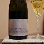 ワインと和食 酒亭 茜坂 - ラツェンベルガー       バハラッヒャー        リースリング ゼクトb.A.ブリュット 2009