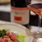 ワインと和食 酒亭 茜坂 - レ フォラール ルージュ        ル ソワ デュ マル