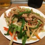 楽翠荘 - 五目野菜炒め(小皿)