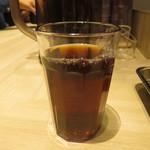博多天ぷら たかお - 黒烏龍茶