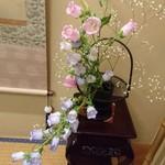 人形町今半 - お部屋のお花