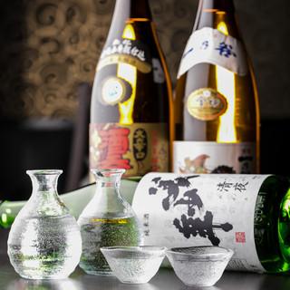 厳選した焼酎や日本酒をご提供!