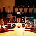 呑と - ドリンク写真:日本酒・焼酎随時40種以上取り揃え!