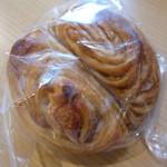 eze bleu - メープルのパン