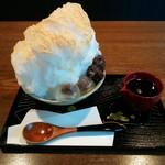 茶楽 かぐや - 「黒蜜きな粉のかき氷」