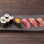 土古里 - 和牛寿司 5種盛合せ