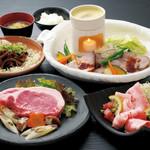 豚料理専門店 銀呈 - ステーキディナーコース