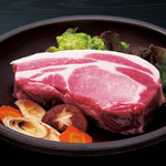 豚料理専門店 銀呈 - リブロースステーキ400g