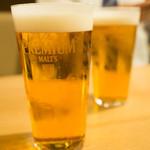 串焼き 村山 - ビール