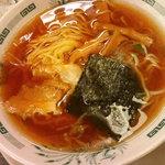 日高屋 - 醤油ラーメン