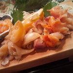 かわなみ鮨 - 貝盛り