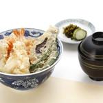 天ぷら新宿つな八 粹 - 昼天丼
