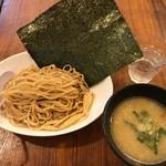 濃厚鶏麺 ゆきかげ - 濃厚鶏白湯つけ麺・白(800円)