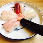 あそこ寿司 - 島寿司・お吸物付(2,100円)