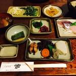 いそざきえん - 黒潮料理(1,620円)