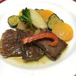 海鮮れすとらん四季庵 - 鳥取和牛ステーキ