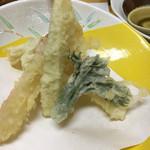 海鮮れすとらん四季庵 - 天ぷら