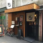 神田とりそば なな蓮 - 店舗外観