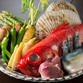 生でも食べられる新鮮食材を串揚げに