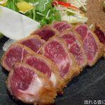 石焼き牛かつ 二階堂 - 牛カツ(140g)