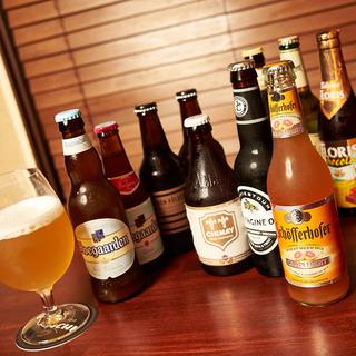 クラフトビールが10種類以上!