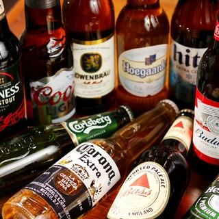 ワールドビア、生ビール、置いています。