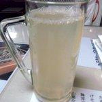 山形田 - 焼酎蕎麦湯割り