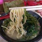 川崎家 - 麺アップ