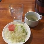 Kichen Bar OWL - スープとサラダ