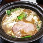 せんじゅ 麺処 猪太 - 特濃ラーメン(醤油) 1020円