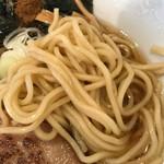 麺屋 花菱 - 麺アップ