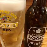 串焼き本舗 - ホッピー白セット@420円   焼酎少なめなのでチョイ高めかな!