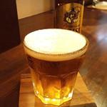 パスタコーヴォ - 瓶ビール(エビス)