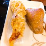 丸亀製麺 - かしわ140円