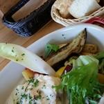フタツボシ カフェ - 鮮魚のポワレ