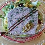 フタツボシ カフェ - 豚肉と鶏白レバーの田舎風パテ