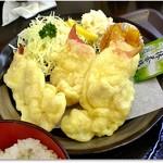 菊一商店 - ほっき天ぷら