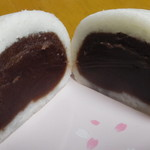 梅園 - 饅頭 白(断面)