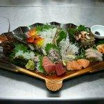 江戸前きよ寿司 - 刺身盛り合わせ