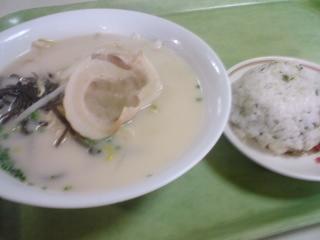 長崎新聞社員食堂