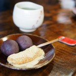 粟餅所・澤屋 - 粟餅(紅梅)