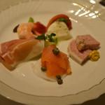 SATSUKI  - 前菜盛り合わせ