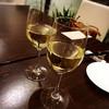 ステラ カデンテ - ドリンク写真:白ワインで乾杯♡