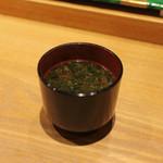 すし 鯔せ - 赤出汁☆