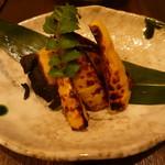 魚と日本のお酒 むく - 焼き筍