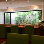 リンクス紅茶と洋酒の店 - 地下です (◍ ´꒳` ◍)b