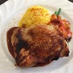 キュイジーヌ トワリコ - 若鶏もも肉のロースト 1000円
