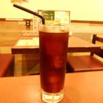イタリアンバル Tino 五反野店 - ランチセットのアイスコーヒー