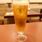 イタリアンバル Tino - ランチ限定の生ビール(ハートランド)