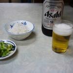 伊勢屋食堂 - しらすおろし&大瓶~☆